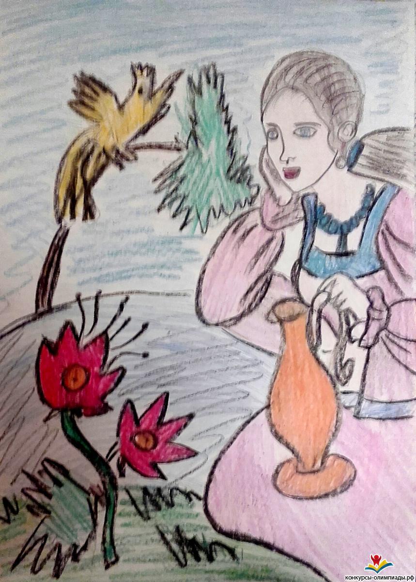 Русский молодец рисунок нашем